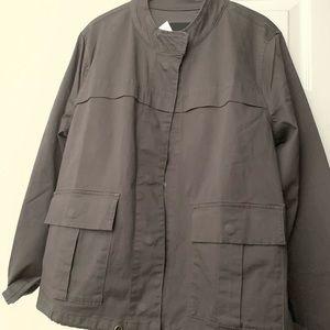 Sanctuary Clothing Charcoal Black Short Jacket